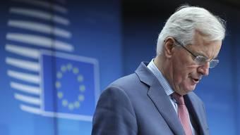 Der von EU-Chefunterhändler Michel Barnier ausgehandelter Brexit-Entwurf erhält Unterstützung: Die EU-Länder hätten sich hinter den Kompromiss gestellt, sagte Barnier am Montag nach einem Ministertreffen in Brüssel.