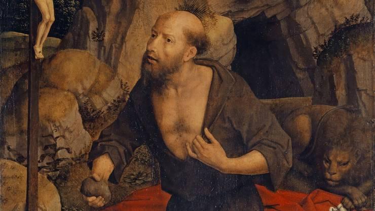 Hans Memlings «Büssender hl. Hieronymus» ist eines der Meisterwerke der Bachofen-Sammlung. (zvg)