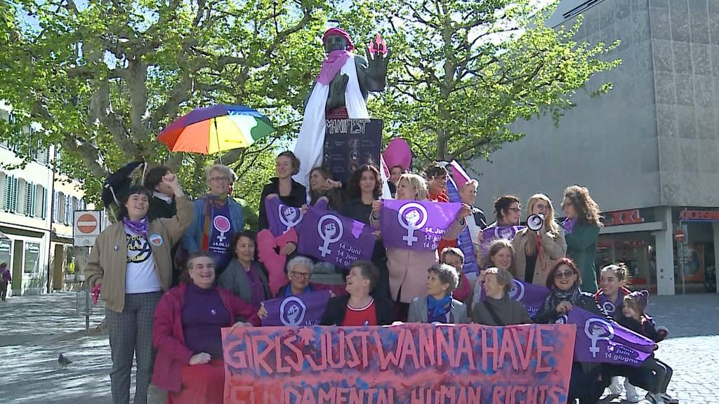 Auch Männer am Frauenstreik willkommen?