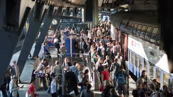 Nein zum Bahnhof Stadelhofen (Themenbild).