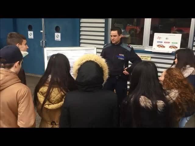 Polizei instruiert die Oberstufe Grenchen