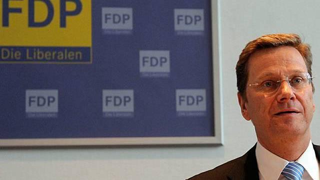 Der FDP Parteichef Guido Westerwelle (Archiv)