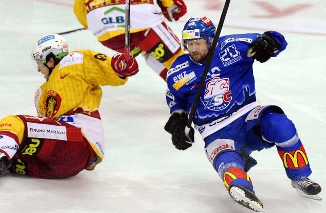2012: Nylander im Dress der ZSC Lions.