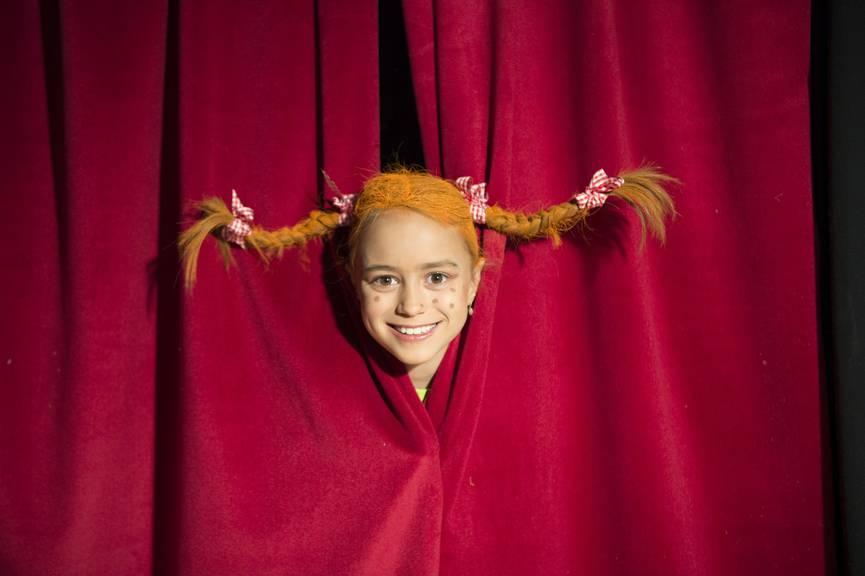 Am Samstag wird ein Pippi-Musical aufgeführt. (Bild: Tagblatt/Ralph Ribi)