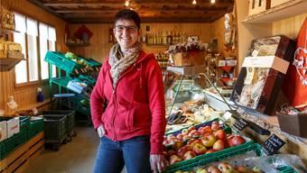 Seit 25 Jahren betreibt Susy Birrer mit ihrem Mann den Hofladen auf dem Gummenhof in Niederwil.