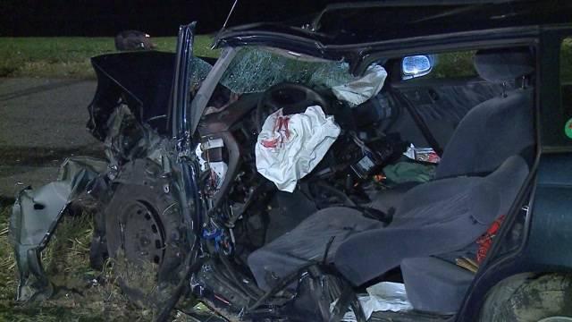 Schwerverletzter nach Frontalkollision in Auenstein
