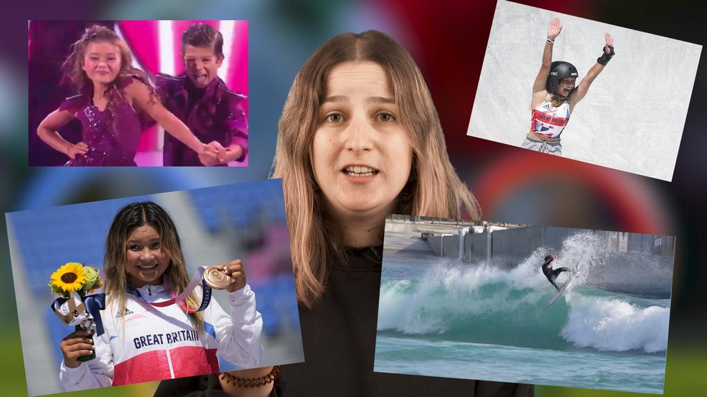Singen, surfen, skaten: So tickt die 13-jährige Olympia-Medaillengewinnerin