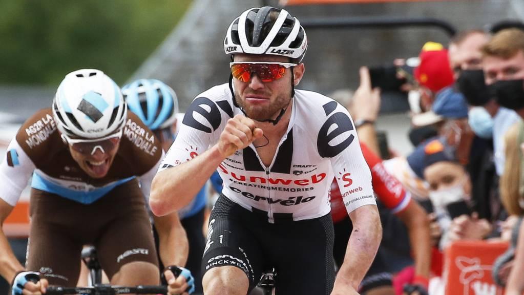 Letztes Jahr gewann Marc Hirschi an der Flèche Wallonne. Nun kehrt er zurück - mit einem neuen Team und noch ohne Topresultat in dieser Saison