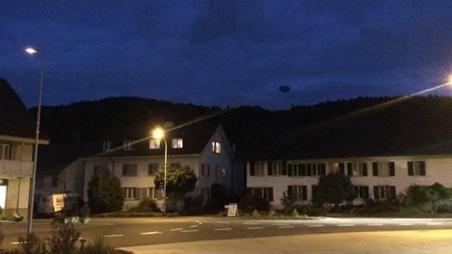 Ufo über Gebenstorf