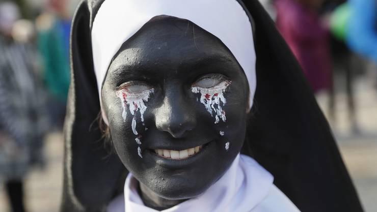 O Schreck! Evangelikale dürften wenig Freude an dieser sündigen Nonne haben.