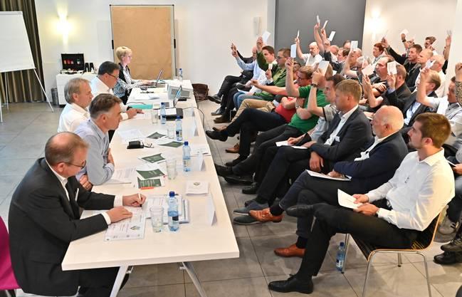 Kein erfreulicher EHCO-Anlass: Die 19. ordentliche Generalversammlung der EHC Olten AG im Hotel Astoria.