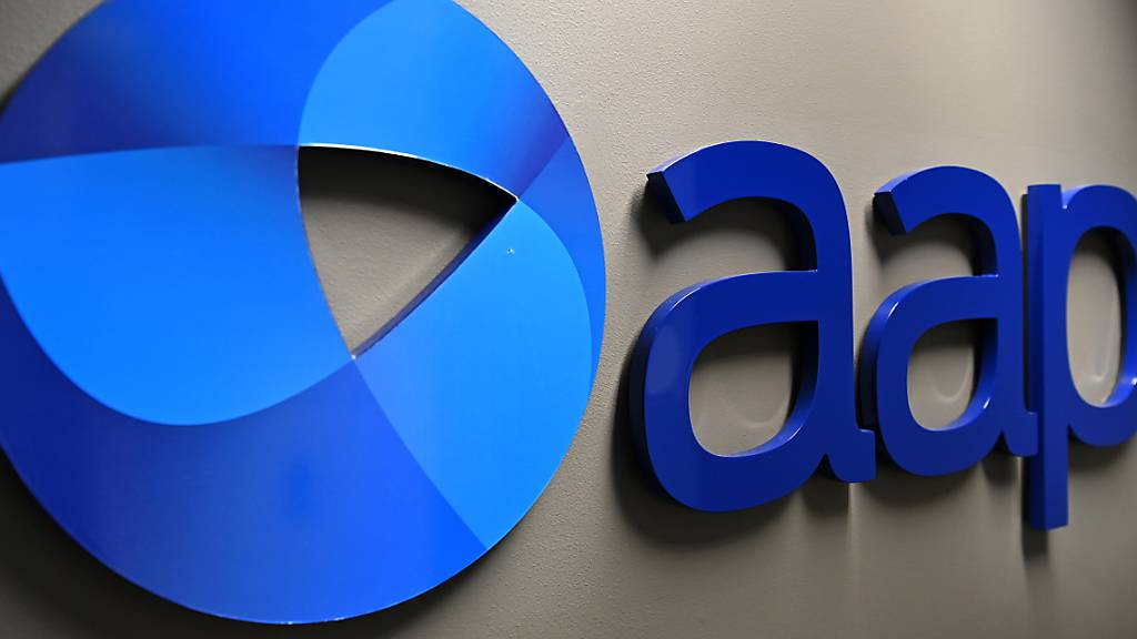 An AAP logo is seen at Sydney Bureau of national newswire Australian Associated Press in Sydney, Thursday, May 21, 2020. (AAP Image/Dean Lewins) NO ARCHIVING