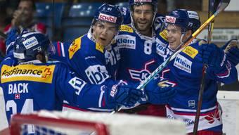 Im ersten Spiel unter Interimstrainer Niklas Gällstedt können die Klotener wieder lachen