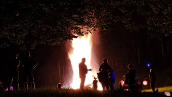 Morgen werden im Aargau klar weniger Höhenfeuer brennen als üblich.