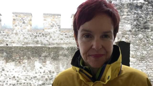 Monica Gschwind über die Sanierung der Burg Pfeffingen