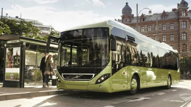 Die Volvo-Hybridbusse vom Typ 7900 sind auf die Dauer kostengünstiger