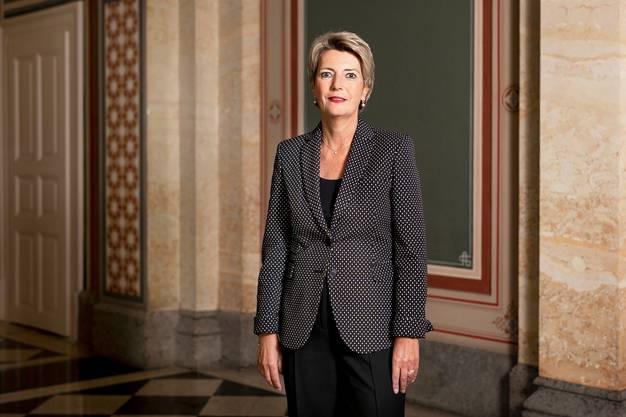 Der Gegenvorschlag als Schweizer Kompromiss: Justizministerin Karin Keller-Sutter im Bundeshaus West.