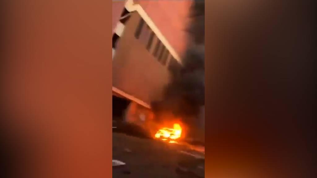 Heftige Explosion in Nashville (USA) fordert drei Verletzte