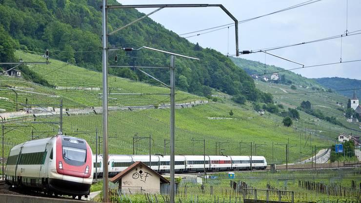 Der ICN hatte aufgrund der Störung rund 15 Minuten Verspätung ab Solothurn