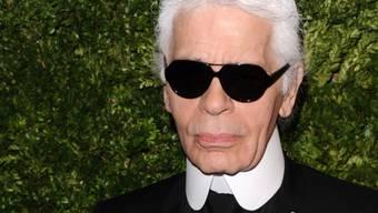 Hat Glück gehabt: Star-Designer Karl Lagerfeld (Archiv)