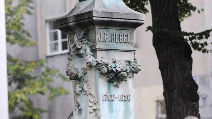 Die Hebelstiftung, die zu Ehren von Johann Peter Hebel ins Leben gerufen worden ist, wird 2010 mit einer Briefmarke bedacht. Juri Junkov/montage bz