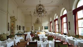 """Der Speisesaal im des """"Vernahof"""" soll zehn Zimmern weichen. Archiv"""