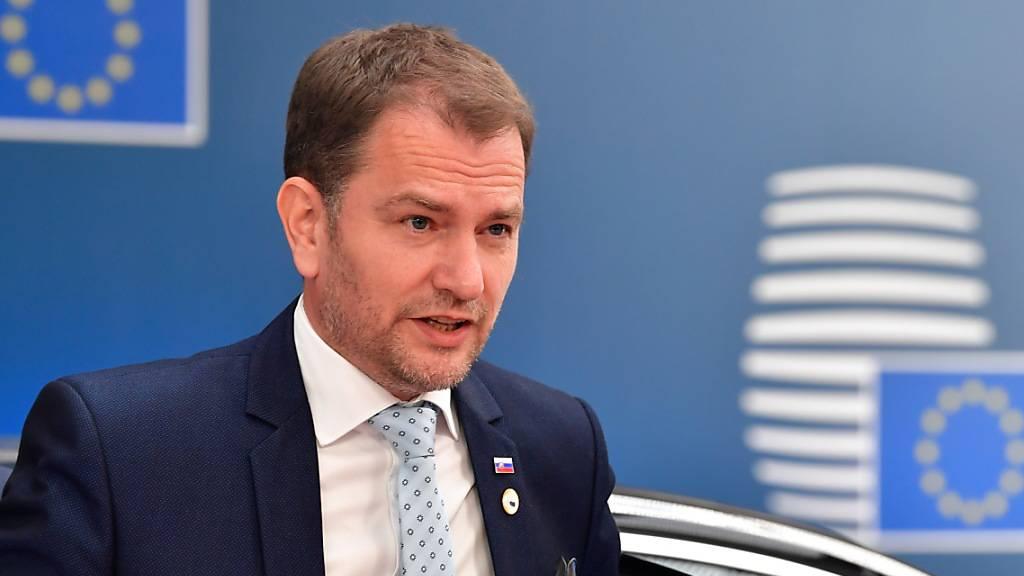 Slowakischer Regierungschef übersteht Misstrauensvotum