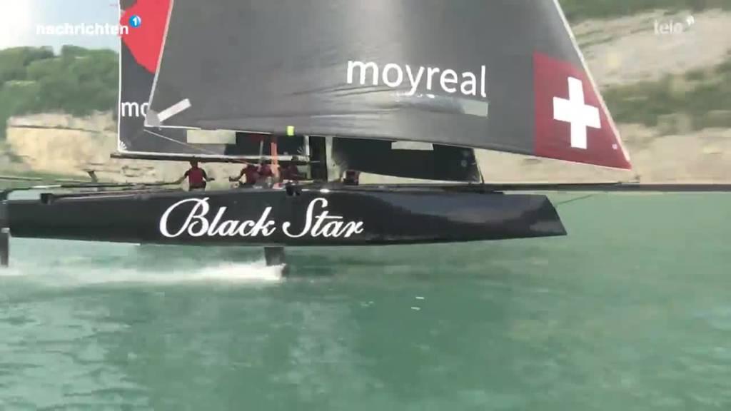 Segelteam trainiert auf Urnersee für Regatta
