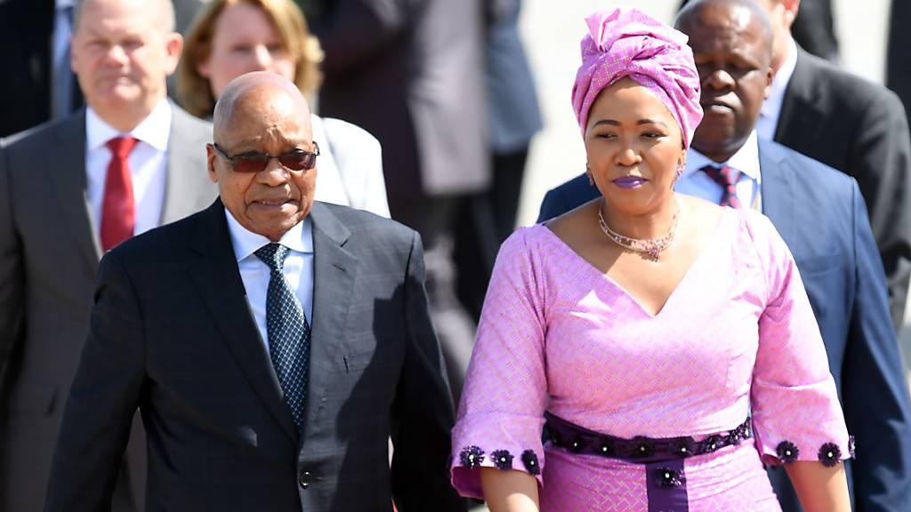 Haftantritt von Ex-Präsident Zuma verschoben