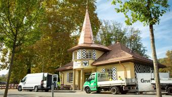 Das Schützenhaus entstand im Umfeld des glanzvollen Eidgenössischen Schützenfestes von 1924 – nun eröffnet ein Quartier-Bistro.