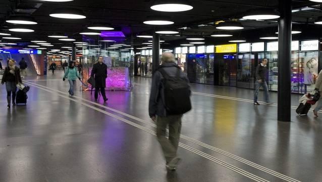 Verkaufsflächen sind ein lukratives Geschäft für die SBB: Das Shopville in Bern.