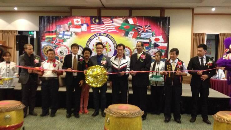 Gruppenbild der Ausgezeichneten Ehrengäste des International Martial Arts Research Institute of Malaysia