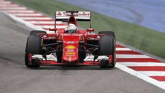 Sebastian Vettels Ferrari benötigte einen neuen Motor