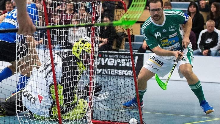 Wiler Matthias Hofbauer erzielte 2 Tore.