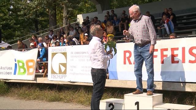 94-Jähriger nimmt an Marathon teil