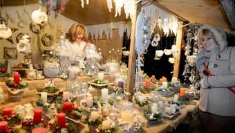 In Aetigkofen gibt es viel Handwerkliches aus der Region zu kaufen. Wer etwas Dekoratives oder ein Geschenk sucht, hat grosse Auswahl. (Archiv)