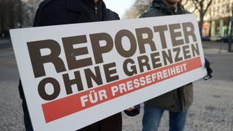 """""""Reporter ohne Grenzen"""" kümmert sich um die Pressefreiheit (Archiv)"""