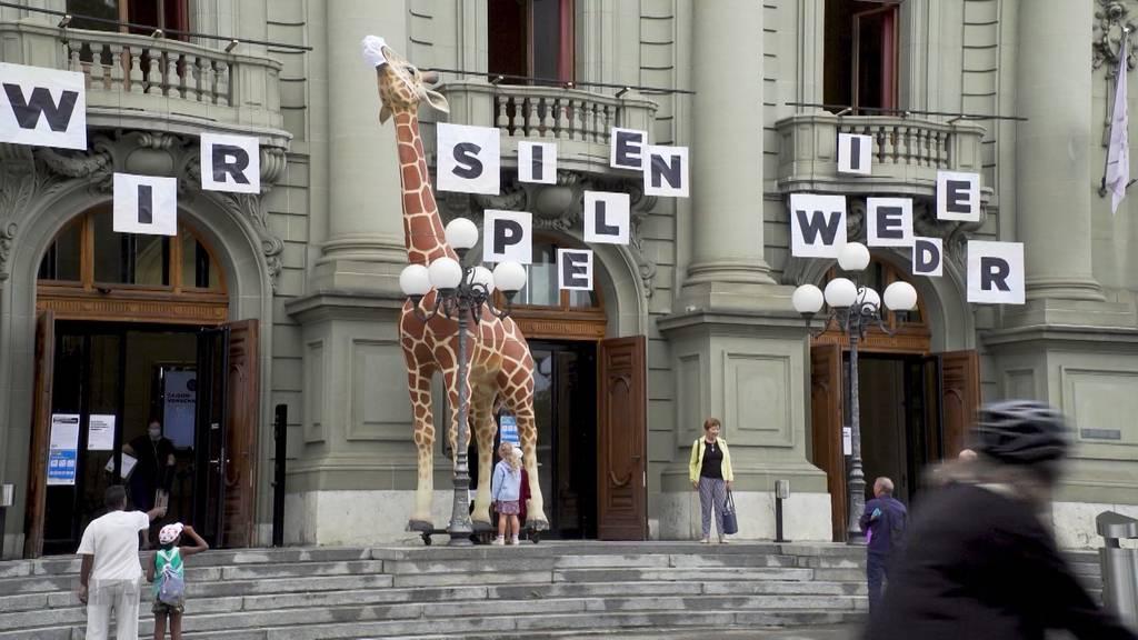 Saison-Start: Berner Stadttheater eröffnet mit Sonderaufführung