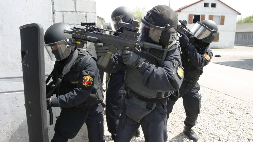 Beim internationalen Vergleichswettkampf Combat Team Conference (CTC) gewann die Sondereinheit Argus der Aargauer Kantonspolizei den ersten Platz - und das als einziges Milizteam unter den Teilnehmern. (Symbolbild)