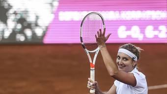 Aushängeschild des von Gstaad nach Lausanne umgezogenen Ladies Open: die Waadtländerin Timea Bacsinszky