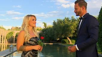 Österreicherin Sanja eroberte Clives Herz, bekam die letzte Rose und dazu einen Ring.zvg