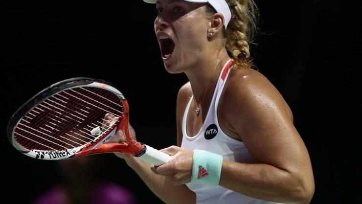 Angelique Kerber wandelt auf den Spuren der deutschen Tennis-Ikone Steffi Graf