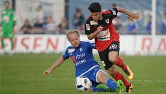 Der FC Wohlen (im Bild gegen Aarau) gastiert zum Auftakt der Saison in Le Mont.