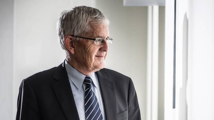 Alt-Bundesrat Kaspar Villiger in der Kritik. ( 25. August 2014.)