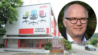 Die Zukunft von Giroflex in Koblenz ist ungewiss. Dies bereitet Gemeindeammann Andreas Wanzenried sorgen.
