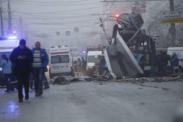 Weitere 19 Personen wurden teils schwerverletzt.