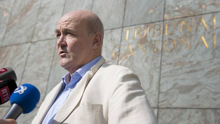 Der Waadtländer Generalstaatsanwalt Eric Cottier hat seine Untersuchung gegen den früheren kenianischen Botschafter Jacques Pitteloud eingestellt. (Archivbild)