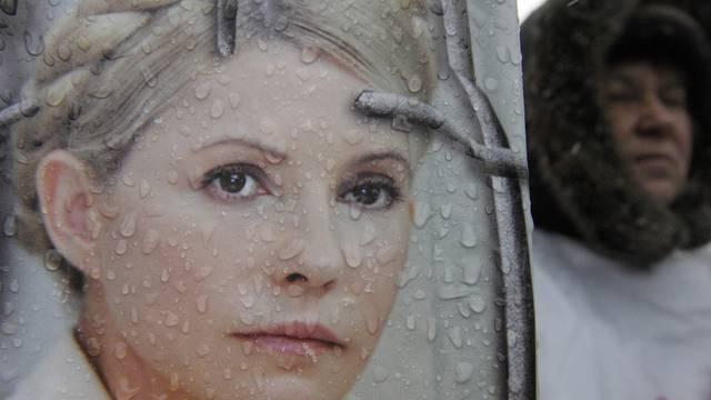 Julia Timoschenko drohen weitere zwölf Jahre Haft (Archiv)