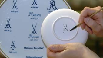 Die deutsche Porzellan-Manufaktur Meissen will noch mehr Absatzmärkte in Asien erschliessen. (Archivbild)