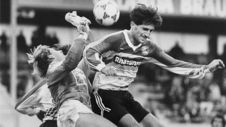 1990: Vladimir Petkovic im Dress des FC Chur.